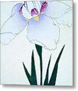 Japanese Flower Metal Print