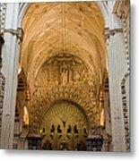 Mezquita Cathedral Interior In Cordoba Metal Print