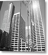 Minneapolis Skyscrapers Metal Print