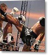 Muay Thai Arts Of Fighting Metal Print