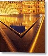 Musee Du Louvre Metal Print
