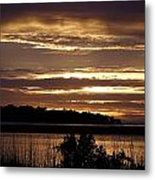 Outer Banks North Carolina Sunset Metal Print