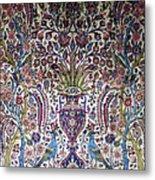 Photos Of Persian Antique Rugs Kilims Carpets  Metal Print