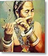 South Asian Art  Metal Print