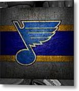 St Louis Blues Metal Print