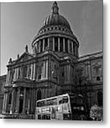 St Paul's Cathedral London Metal Print