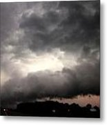Stong Nebraska Supercells Metal Print