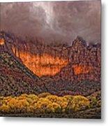 Zion National Park Utah Metal Print