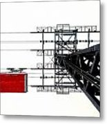 110 People Max Metal Print