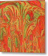 1133 Abstract Thought Metal Print