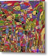 1144 Abstract Thought Metal Print