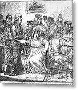Edward Jenner (1749-1823) Metal Print