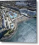 Fly Over Gran Canaria Metal Print