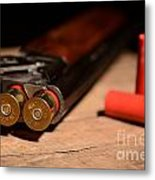 12 Gauge Over And Under Shotgun Metal Print