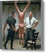 12. Jesus Is Beaten / From The Passion Of Christ - A Gay Vision Metal Print