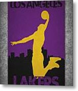 Los Angeles Lakers Metal Print