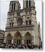Notre Dame In Paris France Metal Print
