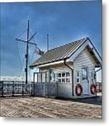 Penarth Pier Metal Print