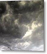 Severe Warned Nebraska Storm Cells Metal Print