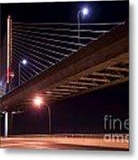 Veterans Glass City Skyway Bridge Metal Print
