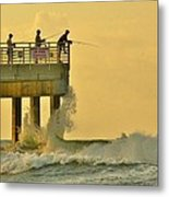 12002 Four Seasons Pier Metal Print