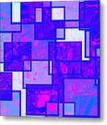 1216 Absract Thought Metal Print