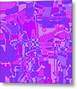 1250 Abstract Thought Metal Print
