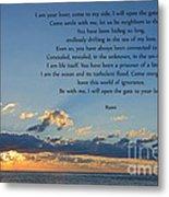 129- Rumi Metal Print