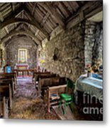 12th Century Chapel Metal Print by Adrian Evans