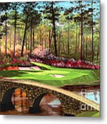 12th Hole At Augusta  Metal Print by Tim Gilliland