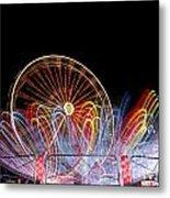 Amusement Park Metal Print