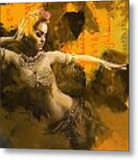 Belly Dancer Metal Print by Corporate Art Task Force