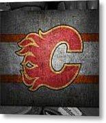 Calgary Flames Metal Print
