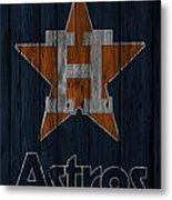 Houston Astros Metal Print