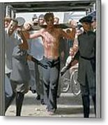 13. Jesus Goes To His Execution / From The Passion Of Christ - A Gay Vision Metal Print