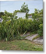 Key West Cemetery Metal Print