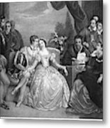 Lady Jane Grey (1537-1554) Metal Print