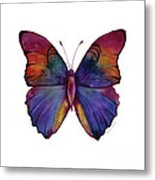 13 Narcissus Butterfly Metal Print