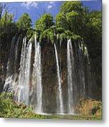 Plitvice Lakes National Park Croatia Metal Print