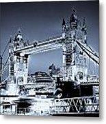 Tower Bridge Art Metal Print
