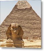 Travel Images Of Egypt Metal Print