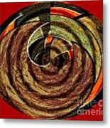 1396 Abstract Thought Metal Print