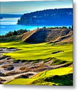 #14 At Chambers Bay Golf Course - Location Of The 2015 U.s. Open Tournament Metal Print