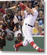 Baltimore Orioles V Boston Red Sox Metal Print