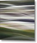 Blurscape Metal Print