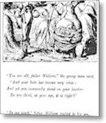 Carroll Alice, 1865 Metal Print