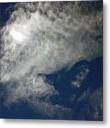 Cloaked Craft Cloud Photograph Metal Print