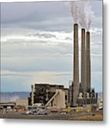Coal-fired Power Station Metal Print