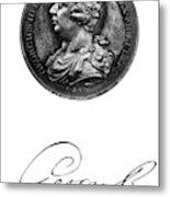 George IIi (1738-1820) Metal Print