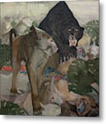 Jungle Book, 1903 Metal Print